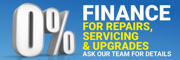 Zero Percent Car Servicing Finance