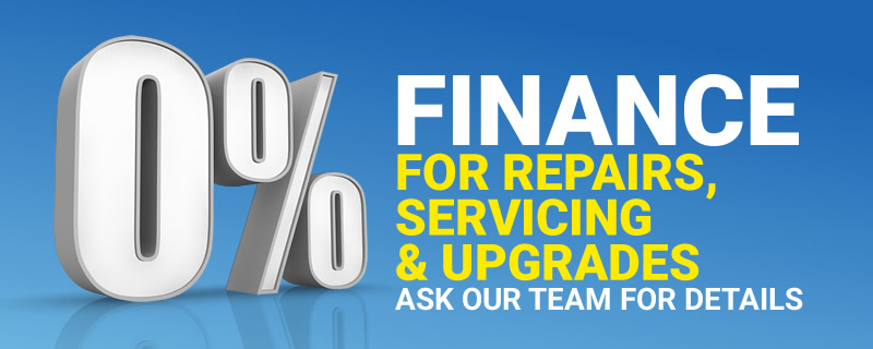 Zero Percent Finance Car Servicing