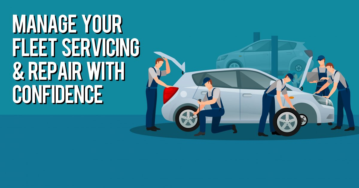 Manage your fleet servicing & repair with confidence