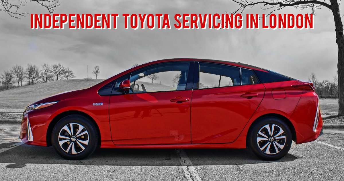 Independent Toyota Servicing in London
