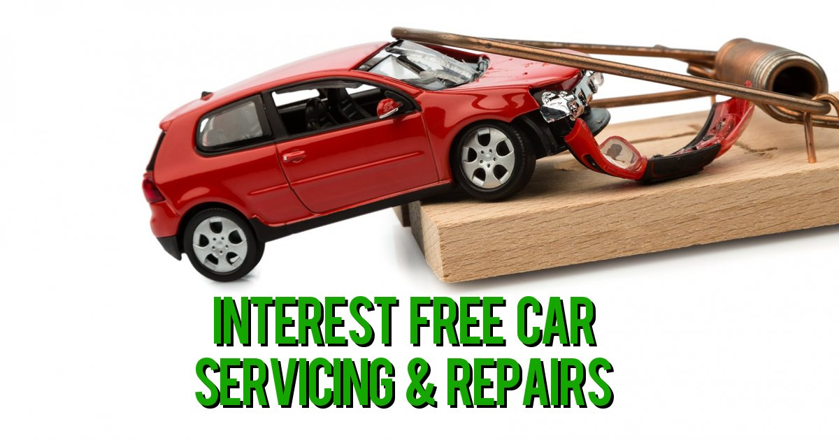 Interest Free Car Servicing & Repairs