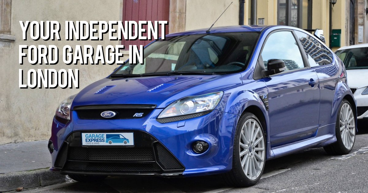 YOUR INDEPENDENT FORD GARAGE IN LONDON